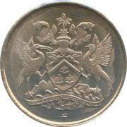 10 cents (10ème anniversaire de l'Indépendance) – avers