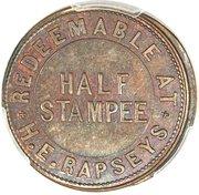 ½ Stampee – revers