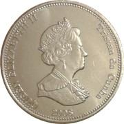 10 pence Elizabeth II – avers