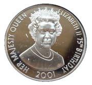 50 Pence - Elizabeth II (75th Birthday of Queen Elizabeth II) – revers