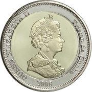 25 pence Elisabeth II – avers