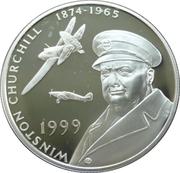 50 Pence - Elizabeth II (Winston Churchill) – revers