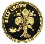 ½ Crown - Elizabeth II, 4th portrait / Fabula Aurum - Florin – revers