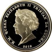 1/4 Crown - Elizabeth II (Quarter Laurel – avers
