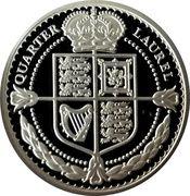 1/4 Crown - Elizabeth II (Quarter Laurel – revers