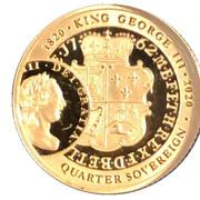 ¼ Sovereign - Elizabeth II – revers