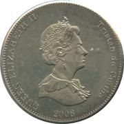 5 pence Elizabeth II – avers