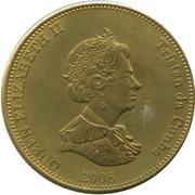 20 pence Elizabeth II – avers