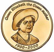 50 Pence - Elizabeth II (Queen Mother) – revers