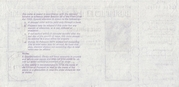 1 Shilling / 5 Pence - Postal Order – revers