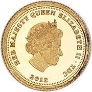 Half Crown - Elizabeth II - Fabula Aurum (Napoleon I) – avers