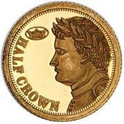 Half Crown - Elizabeth II - Fabula Aurum (Napoleon I) – revers