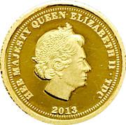 Half Crown - Elizabeth II / Ducat – avers