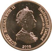1 penny Elizabeth II (Île Stoltenhoff) – avers