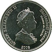 10 pence Elizabeth II (Île Stoltenhoff) – avers