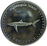 10 pence Elizabeth II (Nightingale Island) – revers