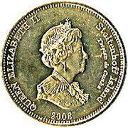 20 pence Elizabeth II (Île Stoltenhoff) – avers