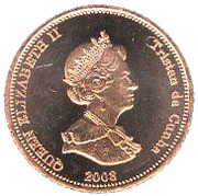 2 pence - Elizabeth II (4ème effigie) – avers