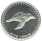 5 pence Elizabeth II – revers
