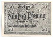 50 Pfennig (Trittau) – avers