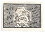 50 Pfennig (Trittau) – revers