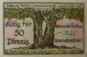 50 Pfennig Trittau – avers