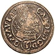 3 Kreuzer - Karl von Liechtenstein – avers