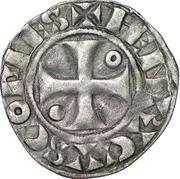 Denier à l'annelet - Henri II – avers
