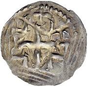 1 Pfennig - Hugo I. – revers