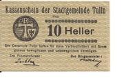 10 Heller (Tulln) – avers