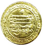 Dinar - Khumarawayh b. Ahmad - 884-896 AD (Misr mint) – revers