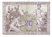20 francs – revers