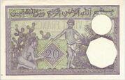 20 Francs 1929 - 1941 – revers