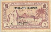 50 Centimes 1943 – avers