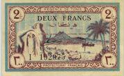 2 Francs 1943 – avers