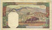 100 Francs 1939 - 1941 – revers