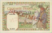 50 Francs 1945 – avers