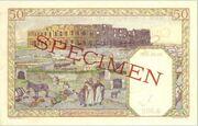 50 Francs 1945 – revers