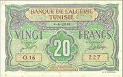 20 Francs 1948 – avers