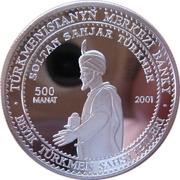 500 manat  Soltan Sawjar – revers