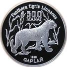 500 manat  Tigre – revers