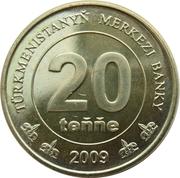 20 tenge -  revers