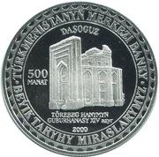 500 manat (Daşoguz) – revers