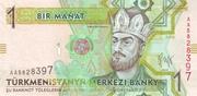 1 Manat – avers
