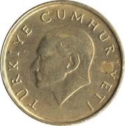 25 bin lira (rose) -  avers