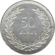 50 kuruş – revers