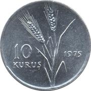 10 kuruş FAO – revers