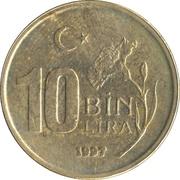 10 bin lira -  revers