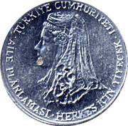 1 kuruş (FAO) – avers