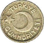 25 kuruş -  avers